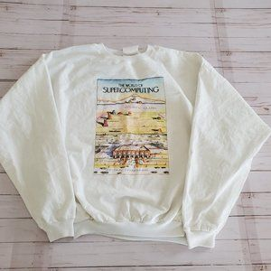 Vintage World of Supercomputing Long Sleeve Shirt